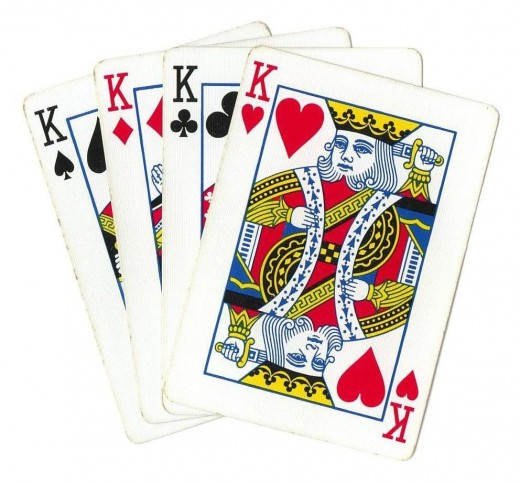 Poker Clip Art - 4 Kings