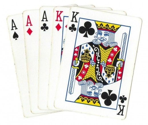 Poker Clip Art - Full House