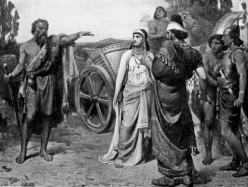 Elijiah confronts Jezebel