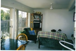 ...and The Green Dining/Living Room