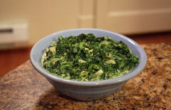 Creamed Spinach Recipe - A Steakhouse Classic!