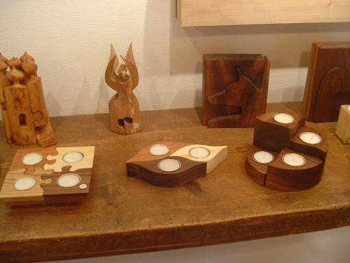 Some souvenirs and gift items from Gamla Linkoping Wood Craft shop