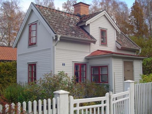 An old house in Gamla Linkoping