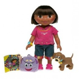 Dora Explorer Doll - dress up adventure