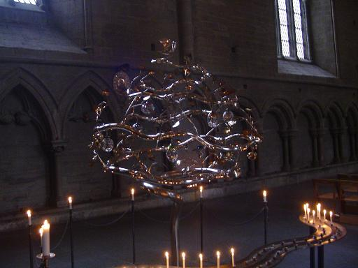 Tree of life in Linkoping Cathedral