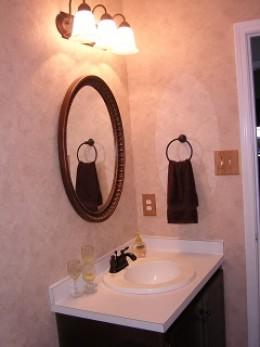 After DIY Bathroom Remodel