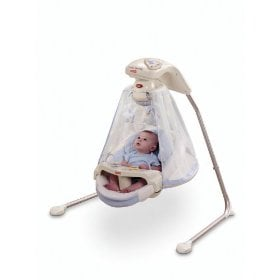 Baby cradle swing from Fisher Price