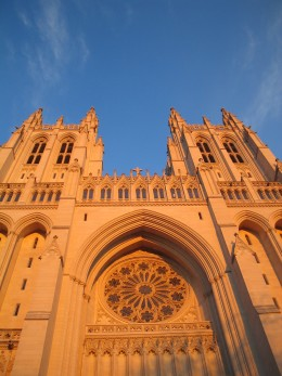 The Washington National Cathedral in Washington, DC is a must-see attraction in the nation's capital.