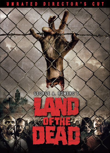 Land of the Dead zombies aplenty! Image copyright zombie specialists! 2010.
