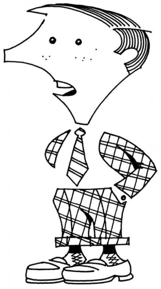 Stan Patt,  ideal civil servant. by rlz