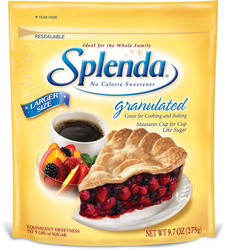In this recipe we use Splenda in place of the sugar.