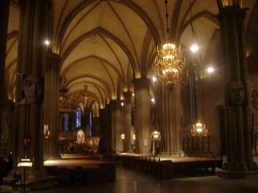 Inside the Linkoping Cathedral