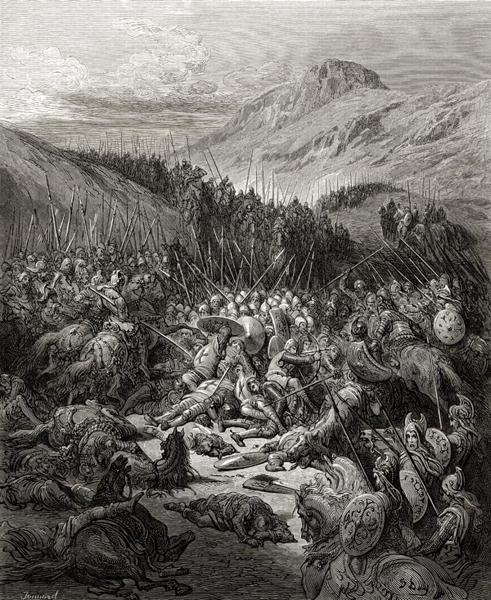 KING RICHARD THE LIONHEART TAKES ON SALADIN