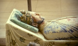 KING RICHARD THE LIONHEART LIES IN REST