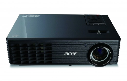 The Acer X1261 projector