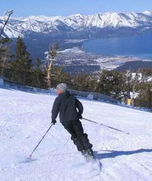 A ski run