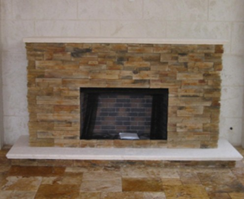 ventless fireplaces are convenient because we do not have to built  chimney or cut through the roof to terminate the flue.