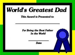 World's Greatest Dad!