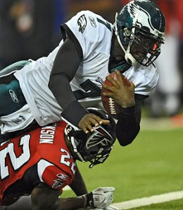 Michael Vick came back to Atlanta and rubbed their face in the dirt
