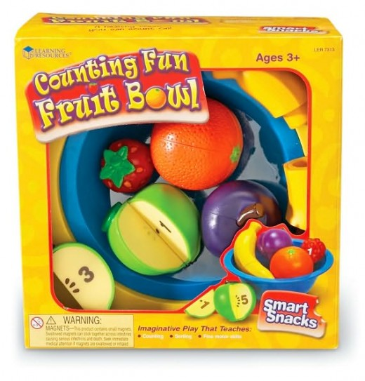 Learning Resources Counting Fun Fruit Bowl - One of Learning Resources' Hot Toys