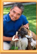 Cesar Millan and Friend