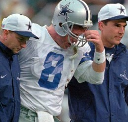 Troy Aikman's tenth and final concussion