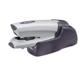 Cordless rechargable heavy duty stapler
