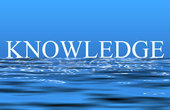 An illustration of the word knowledge  Picture by svanhorn