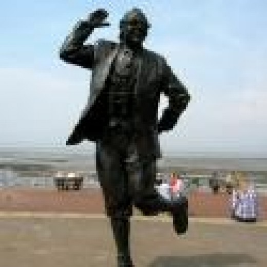 A larger-than-life statue of Eric was unveiled by the Queen at Morecambe in 1999.