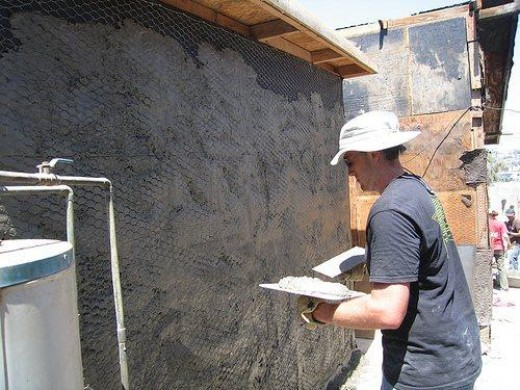 How to apply and mix stucco for How to clean interior stucco walls