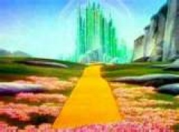 """Follow the Yellow Brick Road"" From the movie: The Wizard of Oz (1939)"