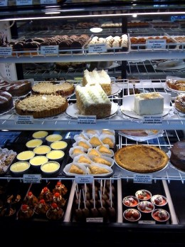 A yummy deli counter.