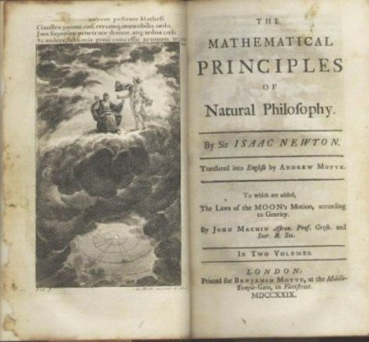 One of Newton.s major publications