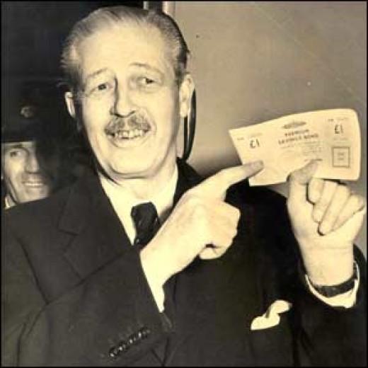 The Premium bond paid out ten thousand pounds prize money...