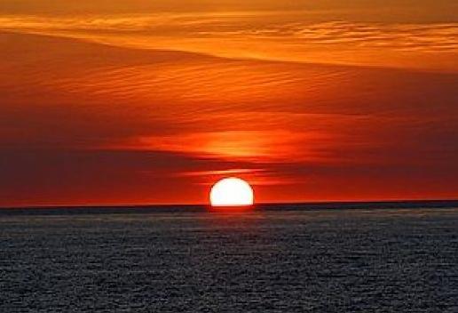 Summer sunset / E. A. Wright