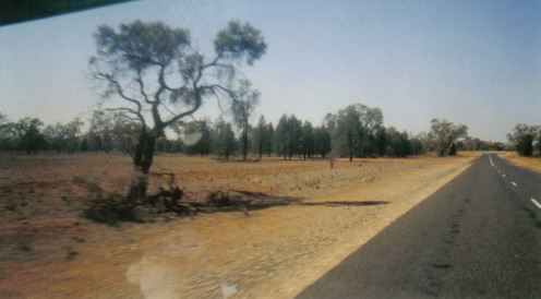 Drought affected Outback New South Wales