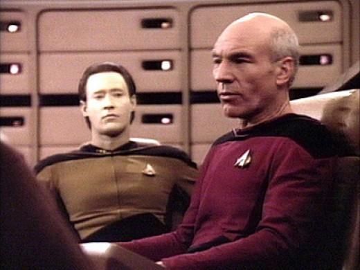 ...or 24th Century Enterprise Captain and crew?