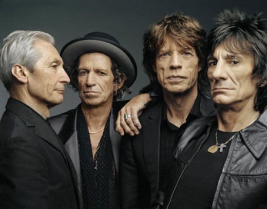 ...or the Glimmer Twins and their gang?