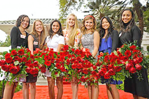 2010 Rose Queen and Her Court