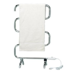 Heated towel warmer