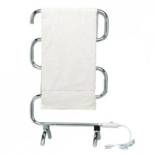 Heated towel warmer