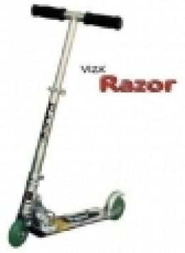 The motorised scooter (Razor)