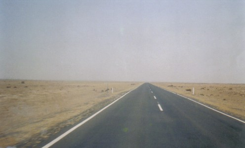The Hay Plains still....about 100km of this emptiness