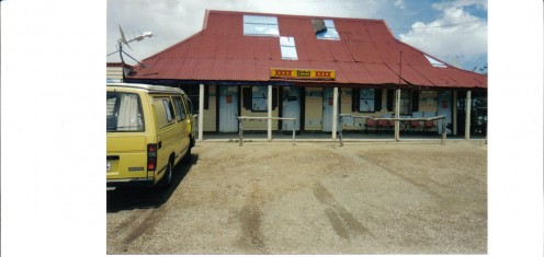 Hebel Pub on the Queensland/New South Wales border