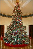 2004 White House Christmas tree .   Public Domain