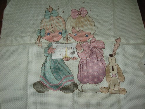 Cross-stitch by me