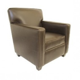 Leather club chair - Pinzon Lombardy