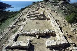 Ruins of Ajax the Great's palace at Salamis