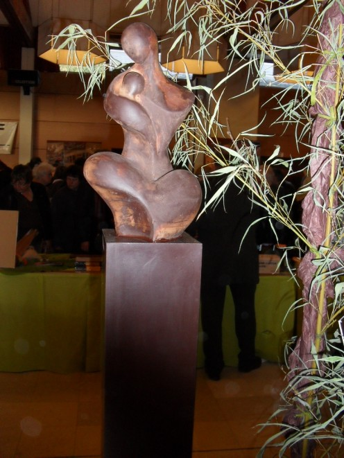 Chocolate sculpture that can last up to 3 years!