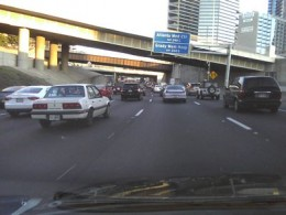 Accidents are a common occurence on Atlanta's busy streets so make sure you have a local Atlanta accident attorney's number on speed dial as you drive down I-285